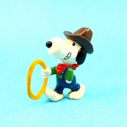 Peanuts Snoopy Cowboy Figurine d'occasion (Loose)