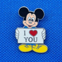 Mickey I love you Pin's d'occasion (Loose)