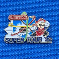Nintendo Super Tour 92 second hand Pin (Loose)