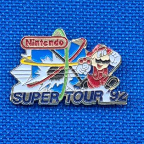 Nintendo Super Tour 92 second hand Pin (Loose)
