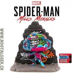 Funko Pop Marvel NYCC 2018 Miles Morales Street Art Collection Deluxe Edition limitée