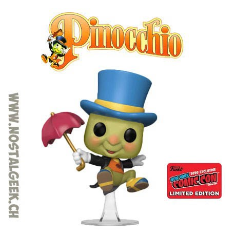 Funko Pop NYCC 2020 Pinocchio Jiminy Cricket (Umbrella) Exclusive Vinyl Figure