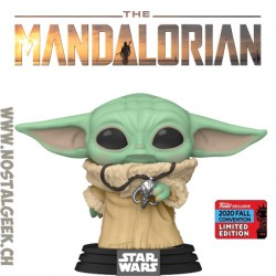 Funko Pop NYCC 2020 The Mandalorian The Child with Pendant Edition Limitée