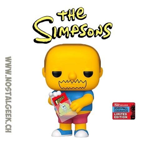 Funko Pop The Simpsons NYCC 2020 Comics Book Guy Exclusive Vinyl Figure