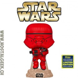 Funko Pop SDCC 2020 Star Wars Sith Jet Trooper Edition Limitée