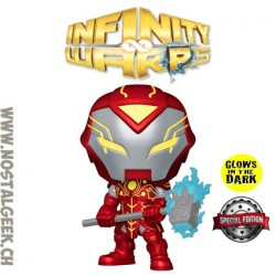 Funko Pop Marvel Infinity Warps Iron Hammer GITD Exclusive Vinyl Figure