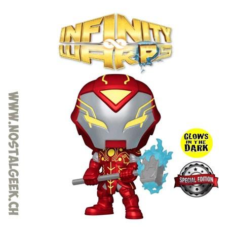 Funko Pop Marvel Infinity Warps Iron Hammer GITD Exclusive Vinyl Figure