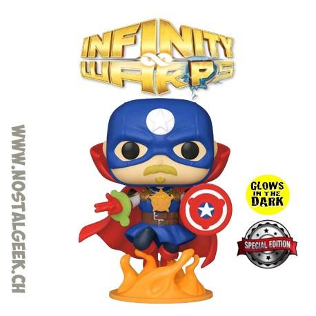 Funko Pop Marvel Infinity Warps Soldier Supreme GITD Exclusive Vinyl Figure