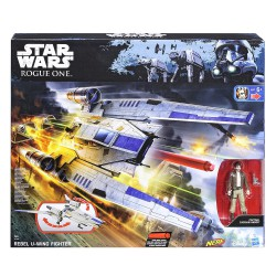 Star Wars Rogue One Rebel U-Wing Fighter Hasbro Nerf