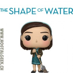 Funko Pop Movies The Shape of Water Elisa with broom Vinyl Figure