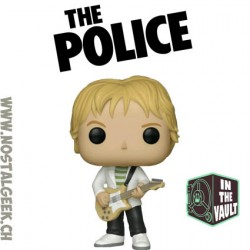 Funko Pop Rocks The Police Andy Summers Vaulted Vinyl Figure