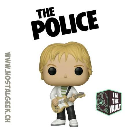 Funko Pop Rocks The Police Andy Summers Vaulted Vinyl Figure
