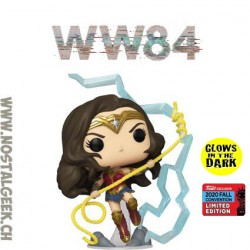 Funko Pop DC NYCC 2020 WW84 Wonder Woman GITD Exclusive Vinyl Figure
