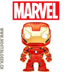 Funko Pop Pin Marvel Iron Man Enamel Pin
