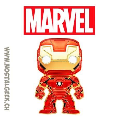 Funko Pop Pin Marvel Iron Man Enamel Pin