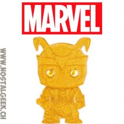 Funko Pop Pin Marvel Loki (Gold) Chase Enamel Pin