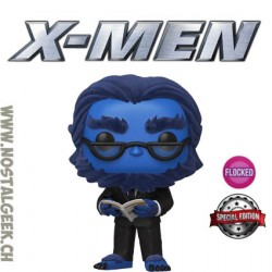 Funko Pop Marvel Beast (X-Men 20th) Flocked Exclusive Vinyl Figure