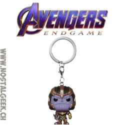 Funko Pop Pocket Avengers Thanos Keychain Vinyl Figure