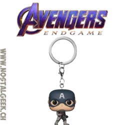 Funko Pop Pocket Avengers Captain America Keychain Vinyl Figure
