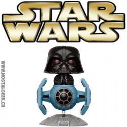 Funko Pop! Star Wars Darth Vader with Tie Fighter Edition Limitée