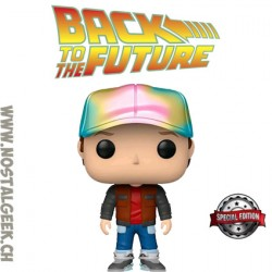 Funko Pop! Movie Back to the Future Marty in Future Outfit Exclusive Vinyl Figure