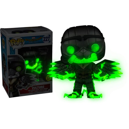 Toy Funko Pop! Marvel Spider-Man Homecoming Vulture GITD