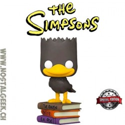 Funko Pop Cartoons The Simpsons The Raven Bart Edition Limitée
