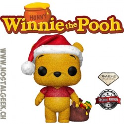 Funko Pop Disney Holiday Winnie the Pooh Diamond Glitter Exclusive Vinyl Figure