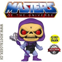 Funko Pop Masters of the Universe Skeletor (Battle Armor) Phosphorescent Edition Limitée