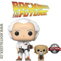 Funko Pop! Film Retour vers le futur Doc & Einstein Edition Limitée