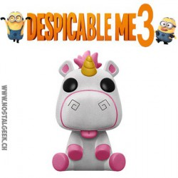 Funko Pop! Despicable Me 3 Flocked Fluffy Unicorn Exclusvie