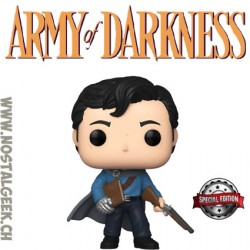 Funko Pop! Film Army Of Darkness Ash with Necronomicon Exclusive Vinyl Figure