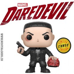 Funko Pop! Marvel Daredevil : Punisher Chase Edition Limitée