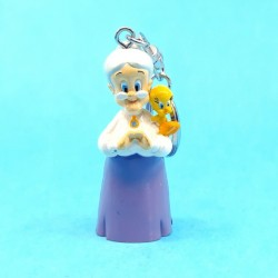 Looney Tunes Tweety and Granny Keyring second hand figure (Loose)