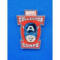 Marvel Collector corps Captain America rsecond hand Pin (Loose)