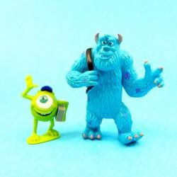 Disney Monsters University Bob Razowski & Sulley second hand figures (Loose)
