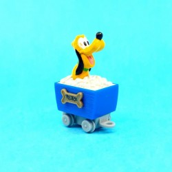 Disney Pluto in wagon second hand figure (Loose)