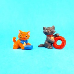 Disney Les Aristochats Berlioz & Toulouse second hand Figures (Loose)