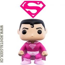 Funko Pop DC Superman (Breast Cancer Awareness) Vinyl Figure