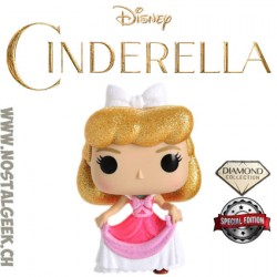 Funko Pop Disney Cinderella (Pink Dress) (Diamond Glitter) Edition Limitée