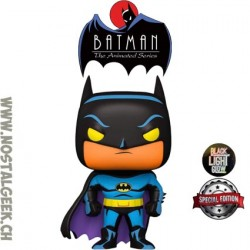 Funko Pop Batman (Black Light Glow) Exclusive Vinyl Figure