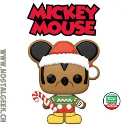 Funko Pop Disney Holiday Gingerbread Mickey Mouse Exclusive Vinyl Figure