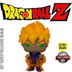 Funko Pop Dragon Ball Z Super Saiyan Goku GITD Exclusive Vinyl Figure