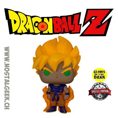 Funko Pop Dragon Ball Z Super Saiyan Goku GITD Exclusive Vinyl Figure