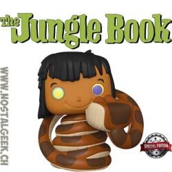 Funko pop Disney The Jungle Book Mowgli with Kaa Exclusive Vinyl Figure