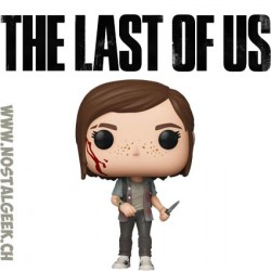 Funko Pop Games Last Of Us Ellie Vinyl Figure