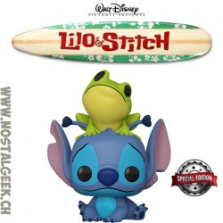 Funko Pop Disney Lilo et Stitch - Stitch with Frog Edition Limitée