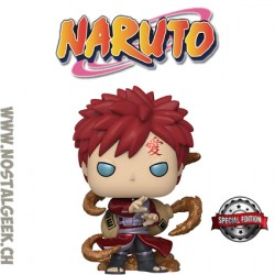 Funko Pop! Anime Manga Naruto Shippuden Gaara (Metallic) Exclusive Vinyl Figure