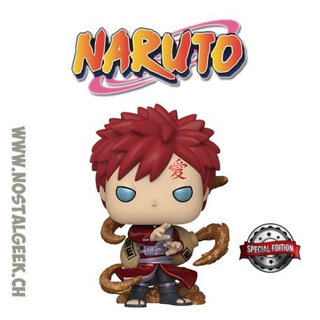 Funko Pop! Anime Manga Naruto Shippuden Gaara (Metallic) Exclusive Vinyl Figure