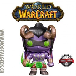 Funko Pop! Games World of Warcraft Illidan (Metallic) Edition Limitée
